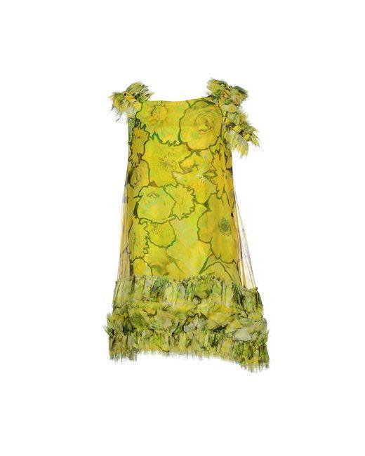 Roberto Cavalli   Женское Зелёное Короткое Платье