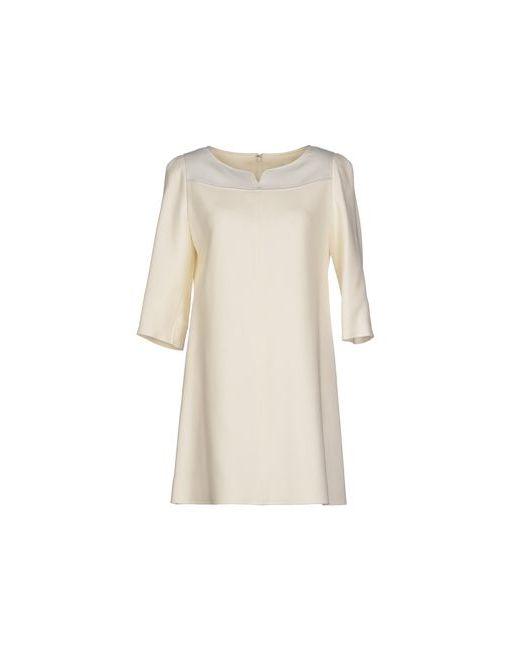Courreges   Женское Белое Короткое Платье