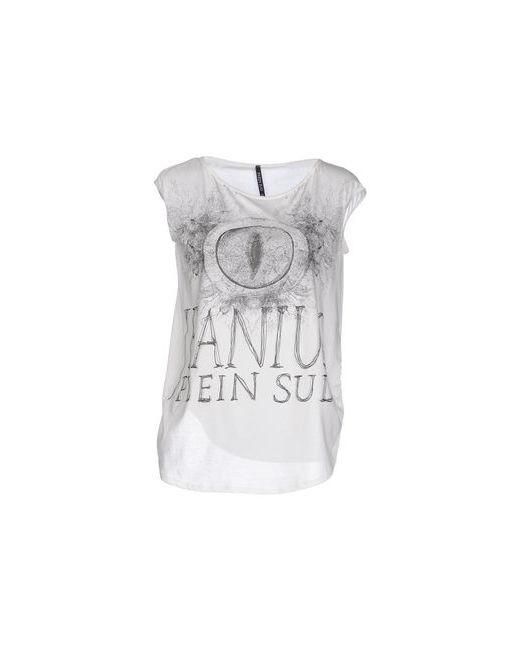 Plein Sud Jeanius | Женская Белая Футболка