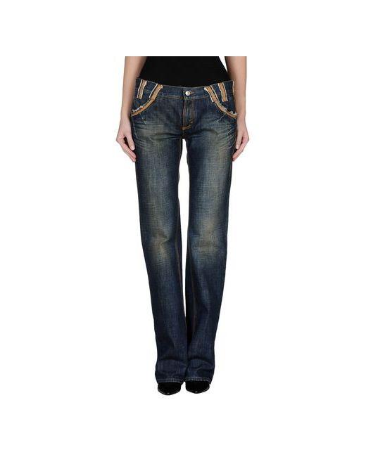 Versace Jeans Couture | Женские Синие Джинсовые Брюки