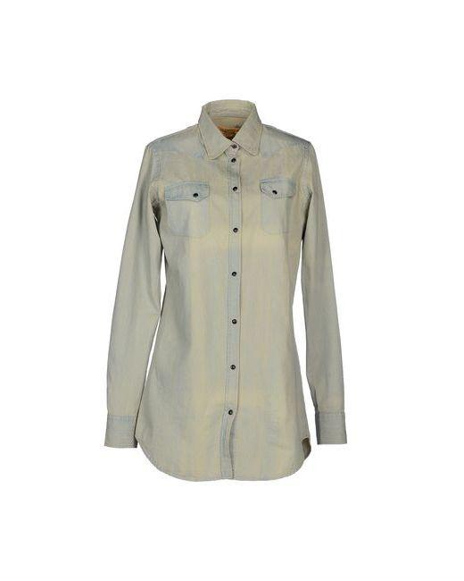 Macchia J | Женская Синяя Джинсовая Рубашка