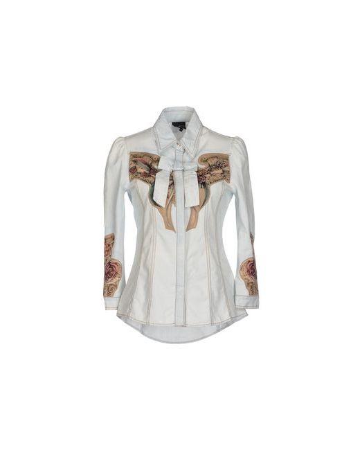 Just Cavalli | Женская Синяя Джинсовая Рубашка