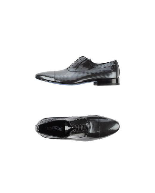 Creazioni Giovanni Conti | Мужская Серая Обувь На Шнурках