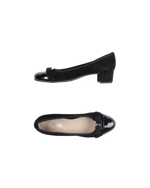 Keys | Женские Чёрные Туфли