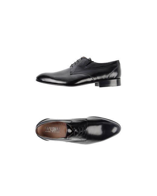 Webb | Мужская Чёрная Обувь На Шнурках