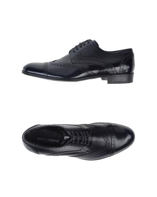 Dolce & Gabbana   Мужская Обувь На Шнурках
