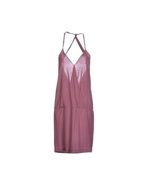 Liu •Jo   Женское Розовато-Лиловое Платье До Колена