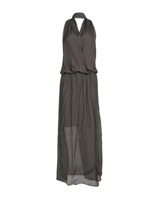 Hack | Женское Длинное Платье