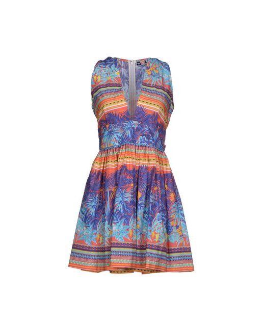 MSGM   Женское Коралловое Короткое Платье