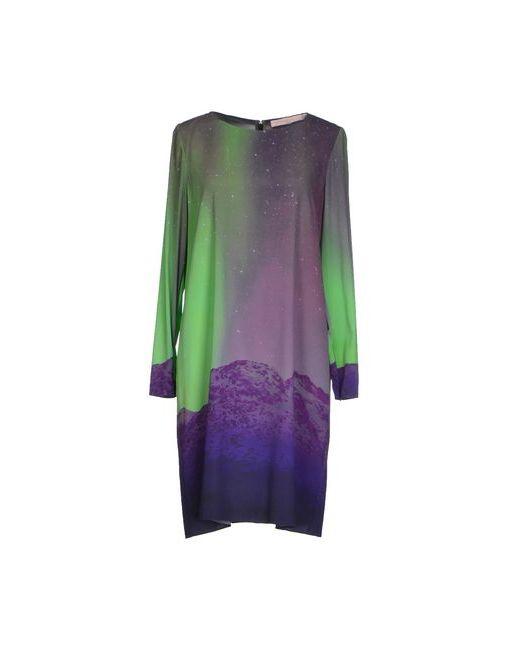 Matthew Williamson | Женское Розовато-Лиловое Короткое Платье