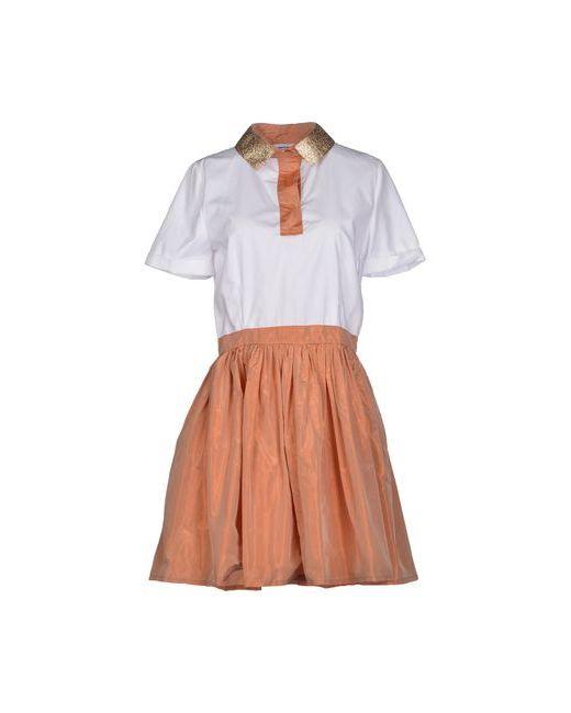 Au Jour Le Jour | Женское Белое Короткое Платье