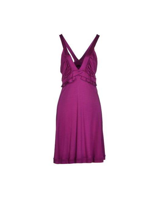 Blu Byblos | Женское Фиолетовое Платье До Колена