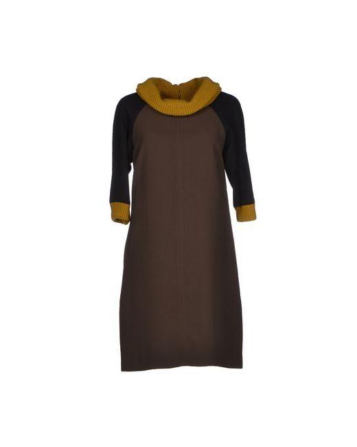 Jo No Fui | Женское Какао Короткое Платье