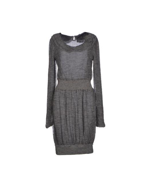 Ermanno Scervino | Женское Серое Короткое Платье