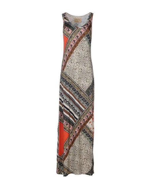 Lily Aldridge For Velvet | Женское Длинное Платье