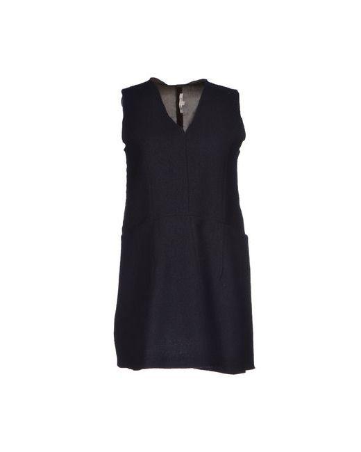 Hache | Женское Чёрное Короткое Платье