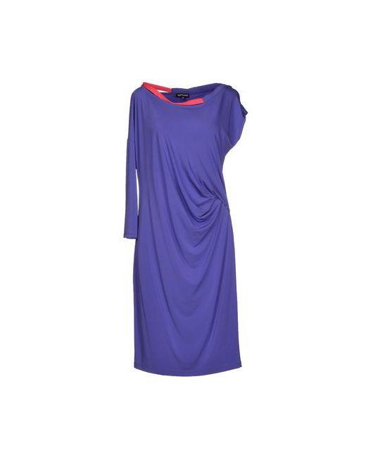 Who*S Who | Женское Фиолетовое Платье До Колена