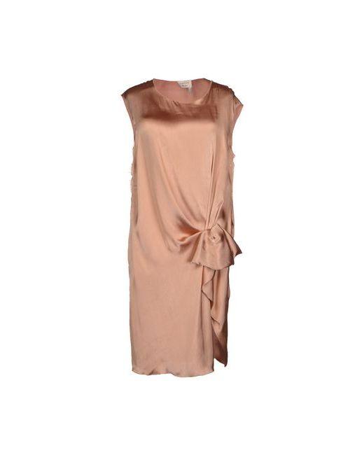 Lanvin | Женское Телесное Платье До Колена