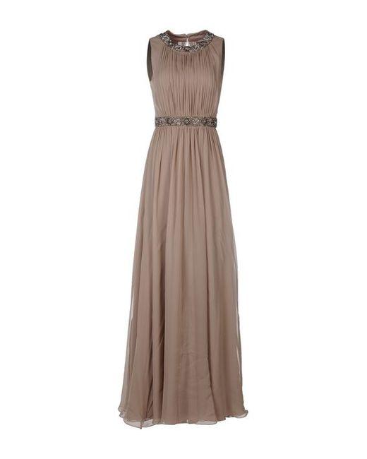 Jenny Packham   Женское Длинное Платье