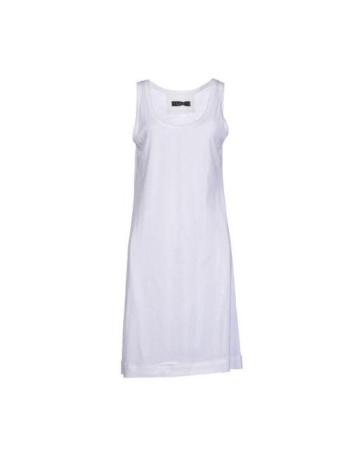 Twin-Set Simona Barbieri | Женское Белое Платье До Колена