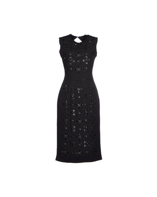 Jenny Packham | Женское Чёрное Платье До Колена