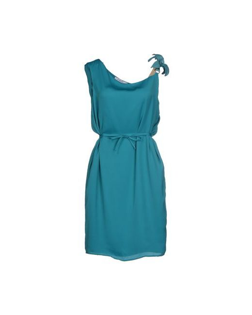Cristinaeffe | Женское Бирюзовое Короткое Платье