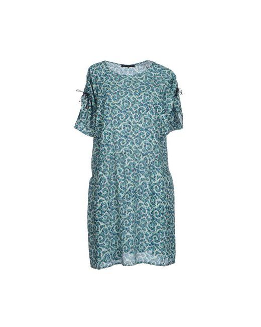 Daniele Alessandrini | Женское Зелёное Короткое Платье