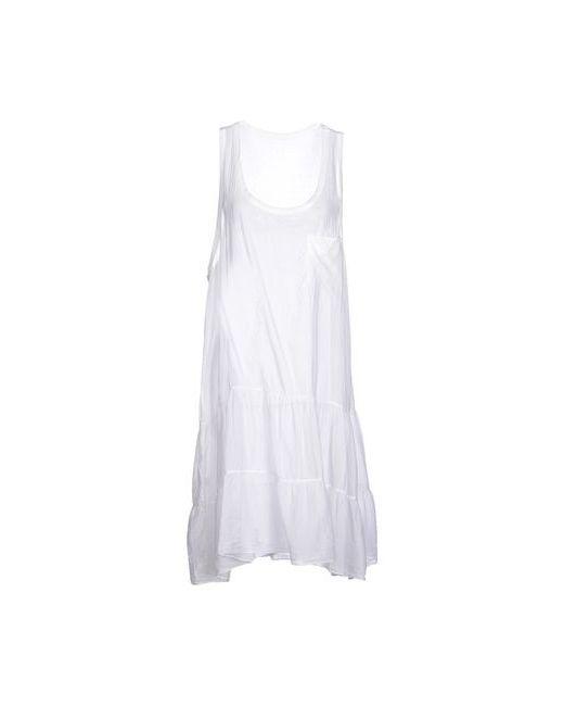 Ottod'Ame | Женское Белое Платье До Колена