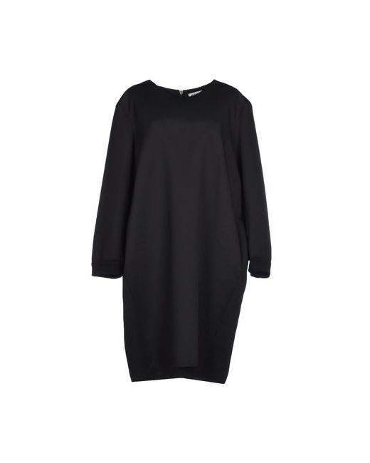 Jil Sander | Женское Чёрное Платье До Колена