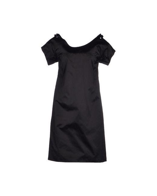 Jil Sander | Женское Чёрное Короткое Платье