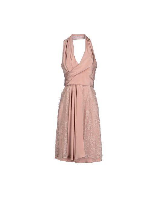 David Fielden | Женское Розовое Платье До Колена