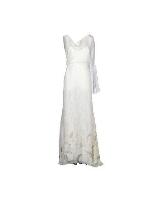 Valentino | Женское Слоновая Костящее Длинное Платье