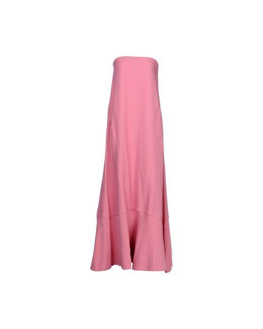 Valentino | Женское Фиолетовое Длинное Платье