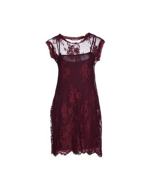 Hope Collection | Женское Коричневое Короткое Платье