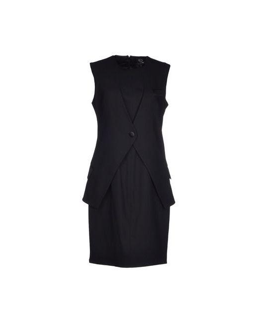 Mcq Alexander Mcqueen | Женское Чёрное Короткое Платье