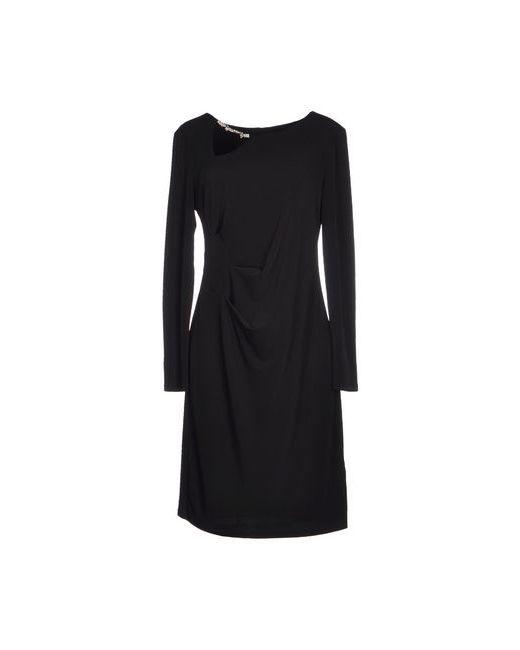 Roccobarocco | Женское Чёрное Короткое Платье