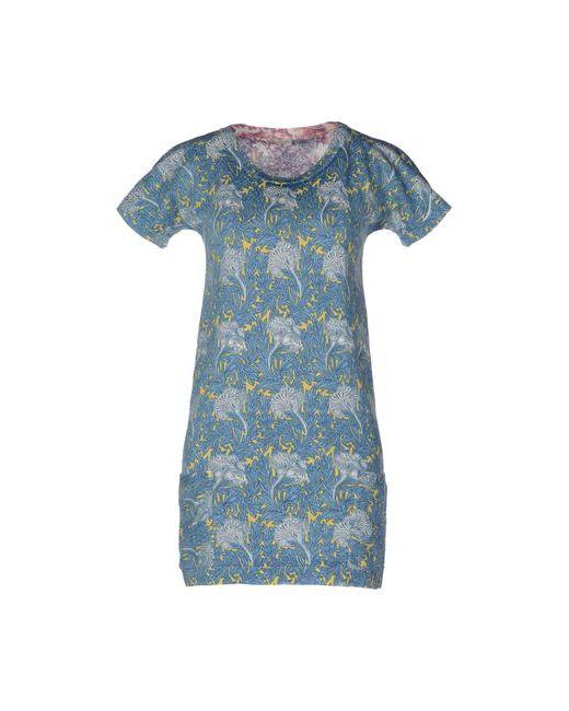 Szen   Женское Синее Короткое Платье