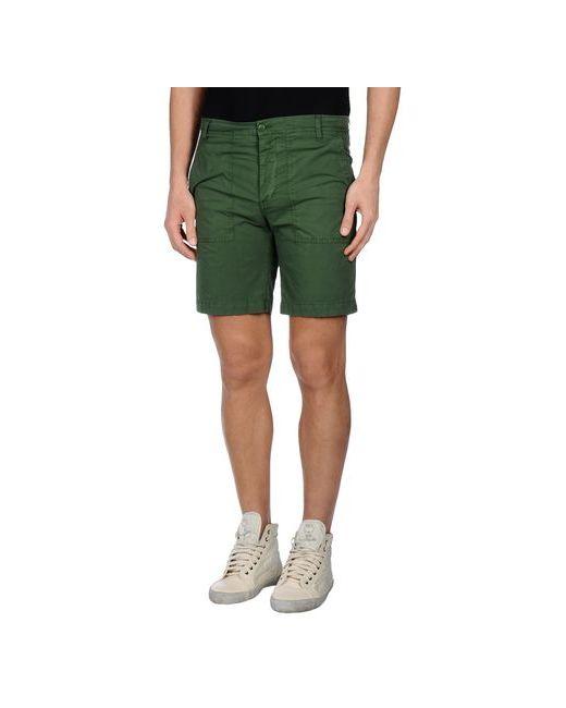 Dondup | Мужские Зелёные Бермуды