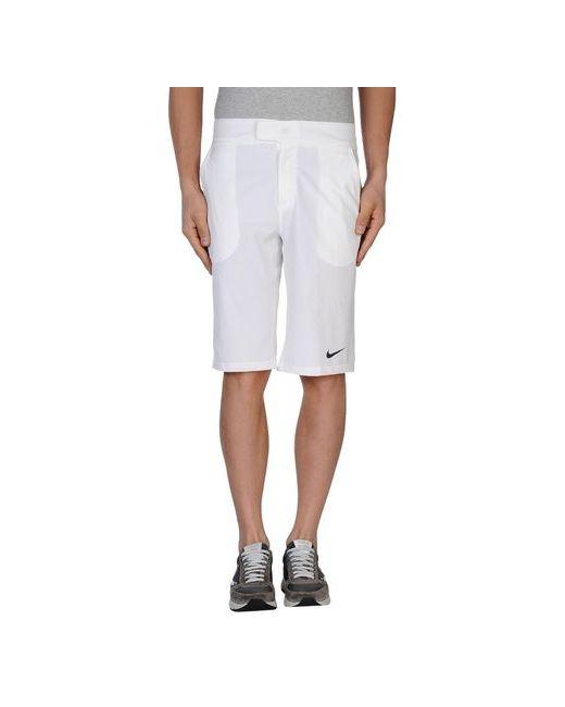 Nike | Мужские Белые Бермуды