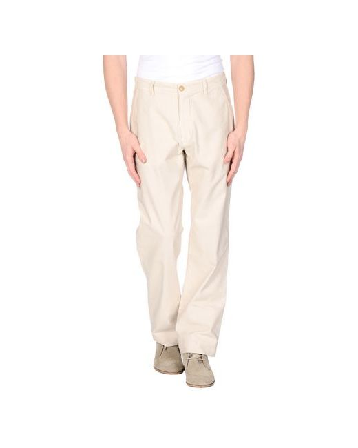 Trussardi Jeans   Мужские Бежевые Повседневные Брюки
