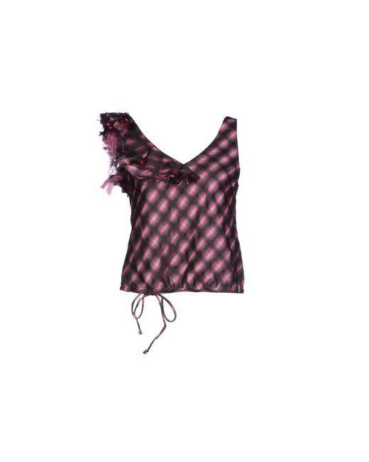 Red Valentino | Женский Фиолетовый Топ Без Рукавов