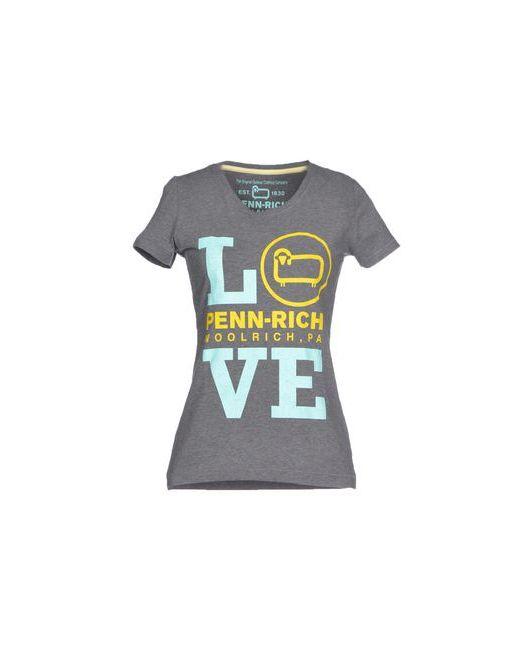 Penn-Rich Woolrich (Pa) | Женская Серая Футболка