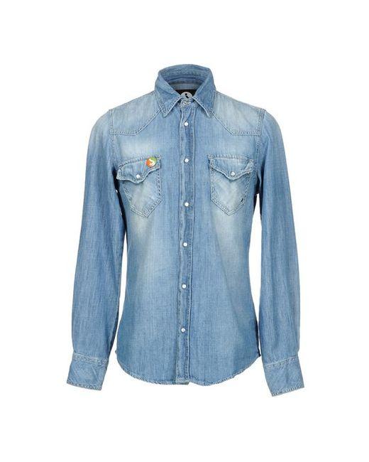 Jcolor | Мужская Джинсовая Рубашка