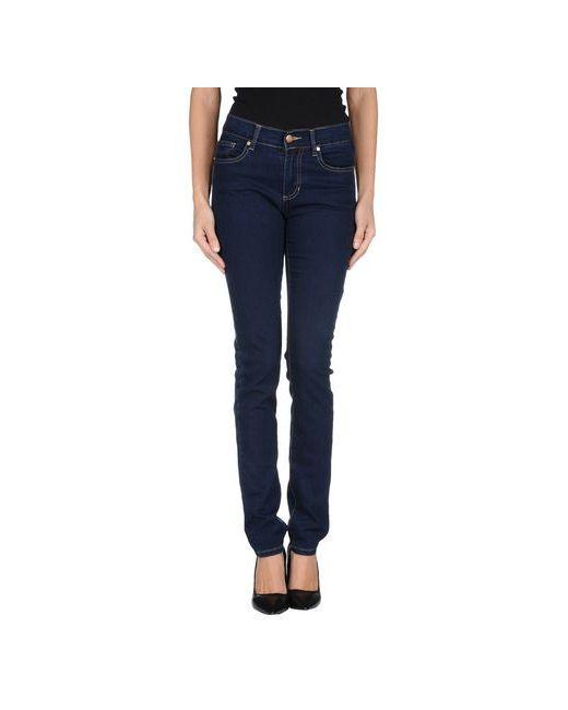 Versace Jeans   Женские Синие Джинсовые Брюки