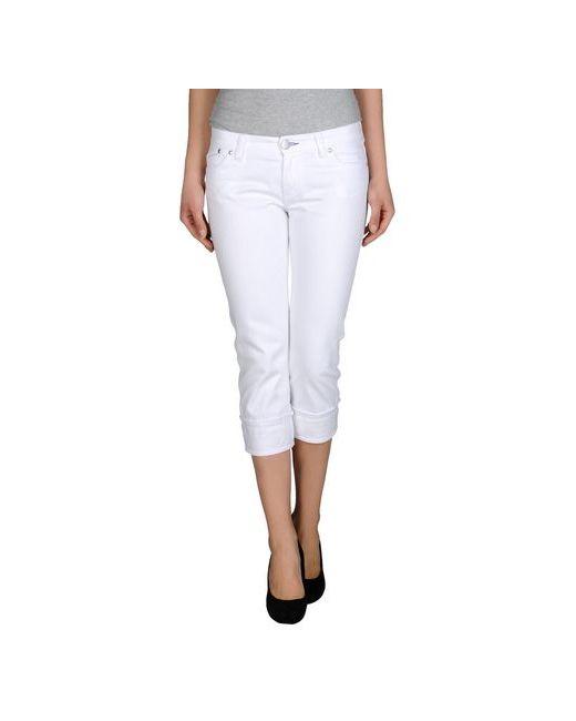 Victoria Beckham Denim | Женские Белые Джинсовые Брюки-Капри