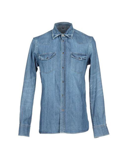 Dondup | Мужская Джинсовая Рубашка