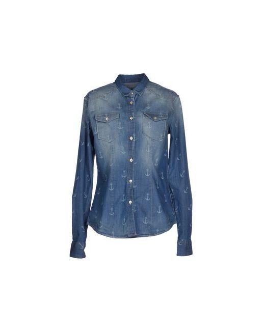 TRUE NYC. | Женская Синяя Джинсовая Рубашка