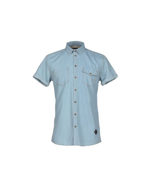 Minimum | Мужская Синяя Джинсовая Рубашка