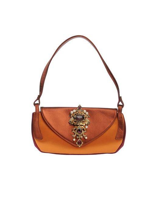 Giuseppe Zanotti Design | Женская Оранжевая Сумка На Руку