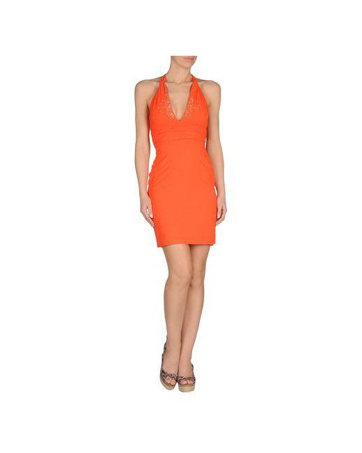Vdp Beach | Женское Оранжевое Пляжное Платье
